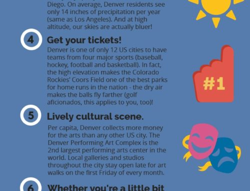 Top 8 Reasons WE LOVE DENVER!